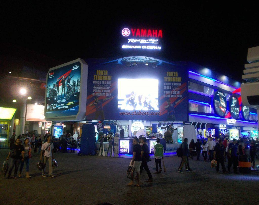 Yamaha Tampil Lengkap Di Jakarta Fair 2016